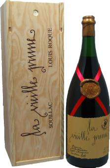 La Vieille Prune Louis Roque Reserve Imperiale Magnum in Holzkiste