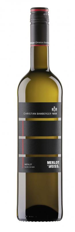 Christian Bamberger Merlot Blanc de Noir trocken 2016