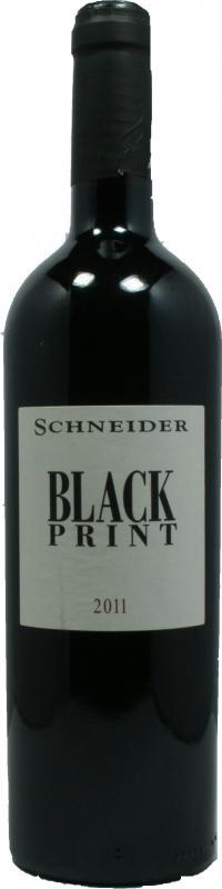 Markus Schneider Blackprint 2016 Austattung Etiket geändert